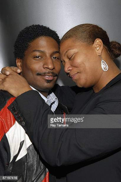 Lance Owens and his sister Dana Queen Latifah Owens attend the Screening of 'ATL' at the Tribeca Cinemas March 27 2006 in New York City