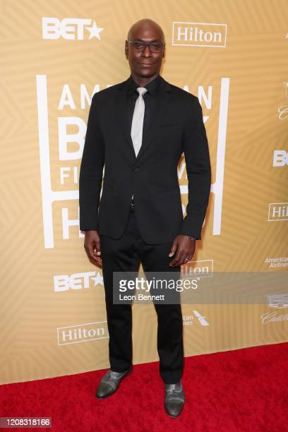 Lance Reddick attends American Black Film Festival Honors Awards Ceremony at The Beverly Hilton Hotel on February 23, 2020 in Beverly Hills,...