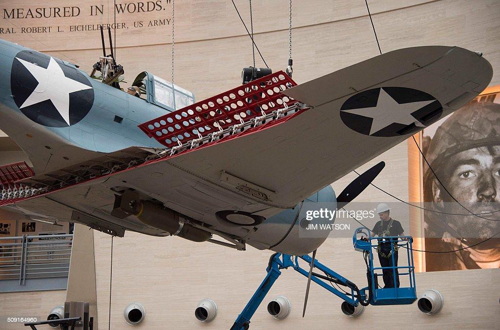 US-MILITARY-AVIATION-HISTORY : News Photo