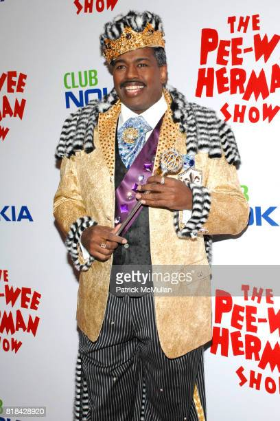 Lance Roberts attends The Pee Wee Herman Show Opening Night at Club Nokia on January 20 2010 in Los Angeles California