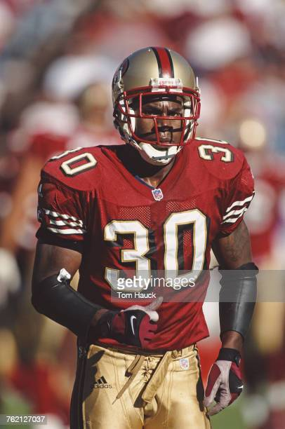 Lance Schulters Defensive Back for the San Francisco 49ers during the National Football Conference West game against the Detroit Lions on 4 November...