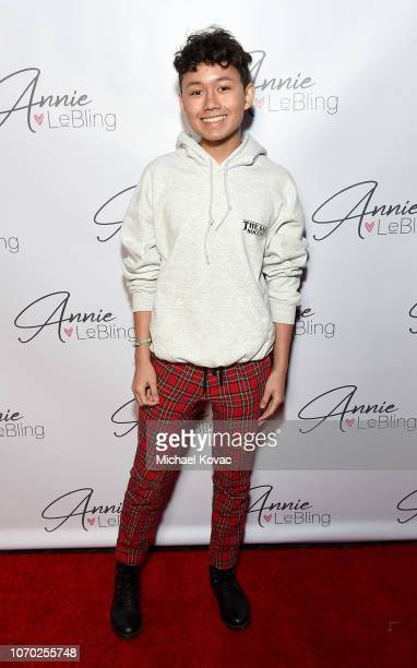 Lance Westenberg attends the Annie LeBling presents Annie LeBlanc Performance Pop Up Shop on December 8 2018 in Los Angeles California