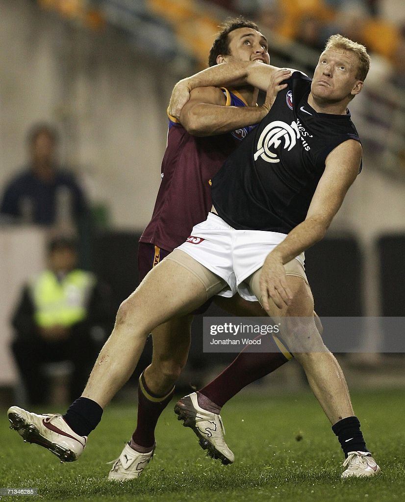 AFL Rd 13 - Brisbane Lions v Carlton
