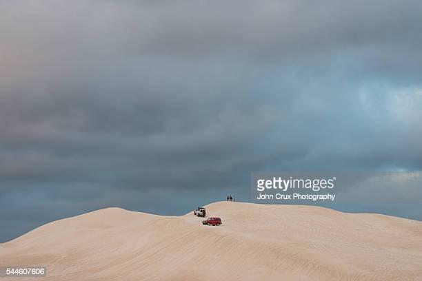 Lancelin sand dune hills