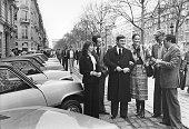 Lancement d'une nouvelle Renault sur les Champs-Elysées