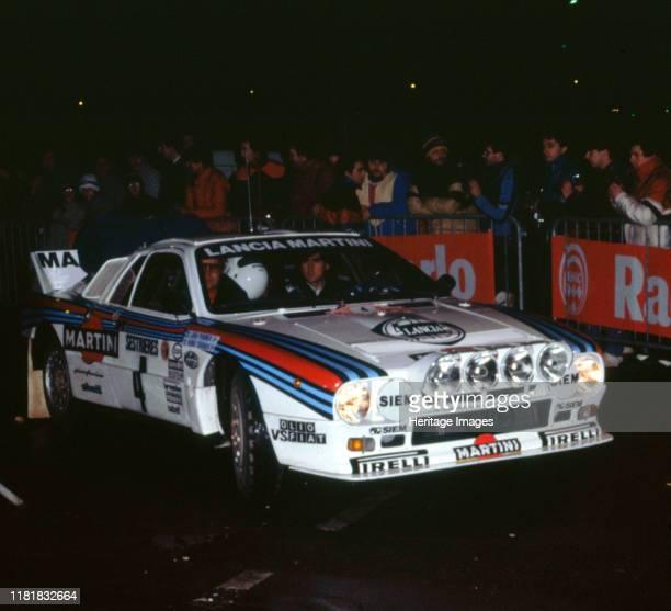 Lancia 037, Henri Toivenen, 1985 Monte Carlo Rally. Creator: Unknown.