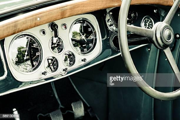 Lancia Astura Cabriolet classic car dashboard