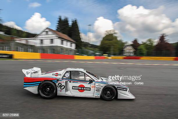 Lancia Beta in action during Spa-CLassic, May 25th, 2013 at Spa-Francorchamps Circuit in Belgium.