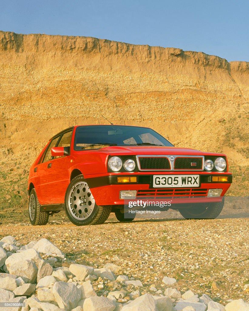 1990 Lancia Delta HF Integrale : ニュース写真