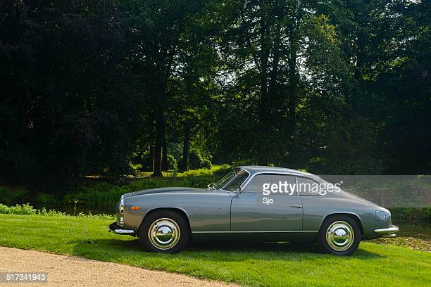 """lancia flaminia coupe italian classic car - """"sjoerd van der wal"""" or """"sjo"""" stock pictures, royalty-free photos & images"""