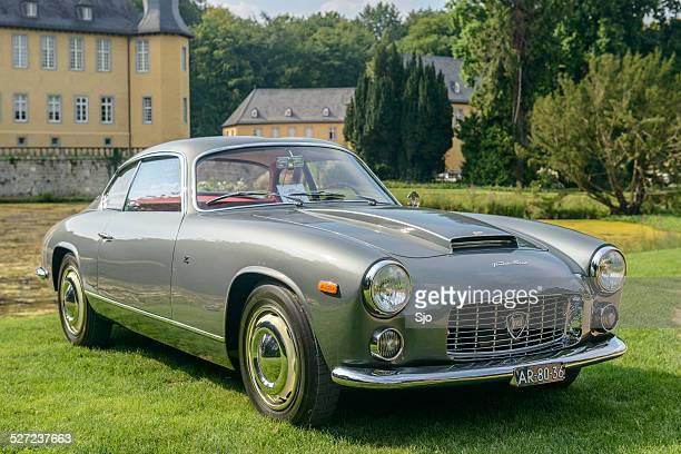 Lancia Flaminia clássico italiano coupe sports car