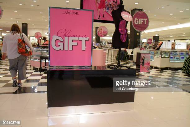 Lancome promotion sign in Bloomingdale's