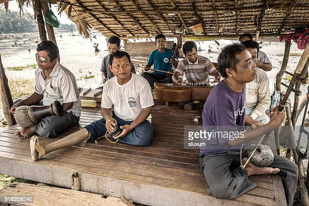 land mines victims in agkor cambodia - land mine stock pictures, royalty-free photos & images