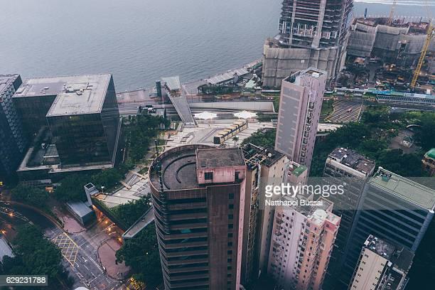 Land of Architecture , Kowloon land ,Hong Kong city
