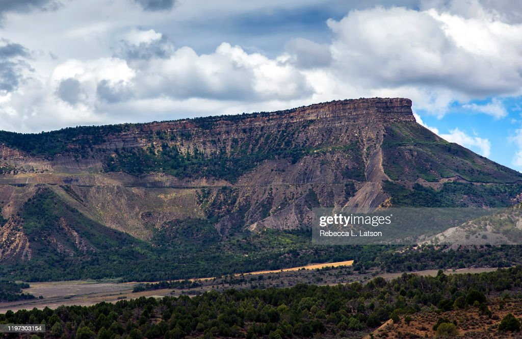 Land Of The Cliff Dwellers : Stock Photo