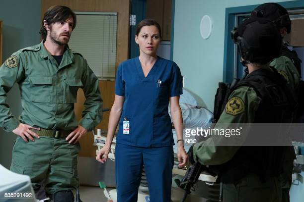 SHIFT 'Land Of The free' Episode 409 Pictured Eoin Macken as TC Callahan Jill Flint as Jordan Alexander