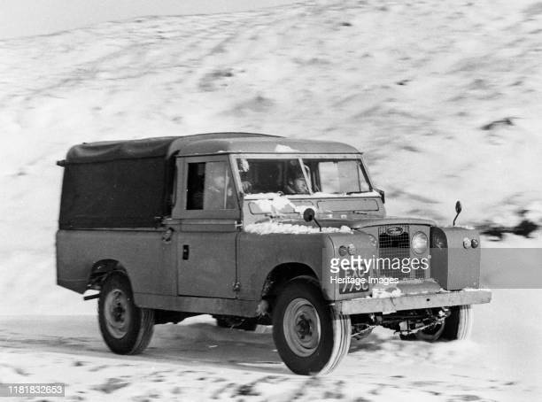 Land Rover 109 series 2. Creator: Unknown.
