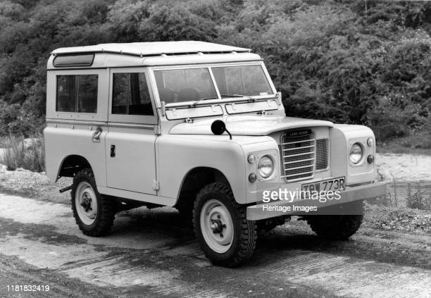 Land Rover 88 Series 3. Creator: Unknown.