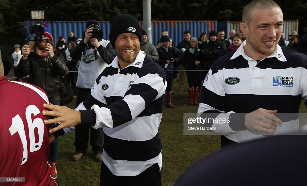 """Land Rover Launches """"We Deal in Real"""" Rugby World Cup Campaign : News Photo"""