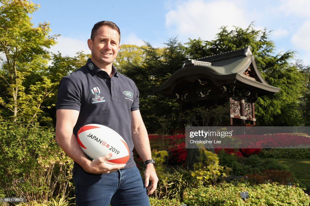 Rugby World Cup 2019 Land Rover Sponsorship Launch : News Photo