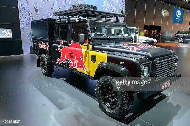 land rover defender 130 - land rover stock pictures, royalty-free photos & images
