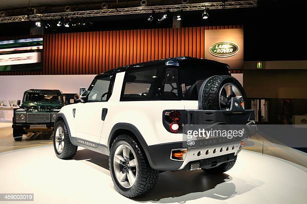 land rover defender concept - land rover stock pictures, royalty-free photos & images
