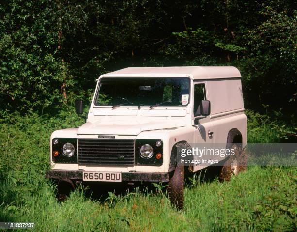 Land Rover Defender. Creator: Unknown.