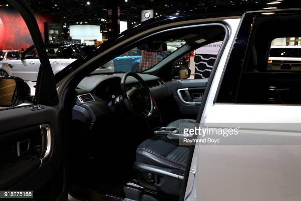 Land Rover Discovery Sport is on display at the 110th Annual Chicago Auto Show at McCormick Place in Chicago Illinois on February 8 2018