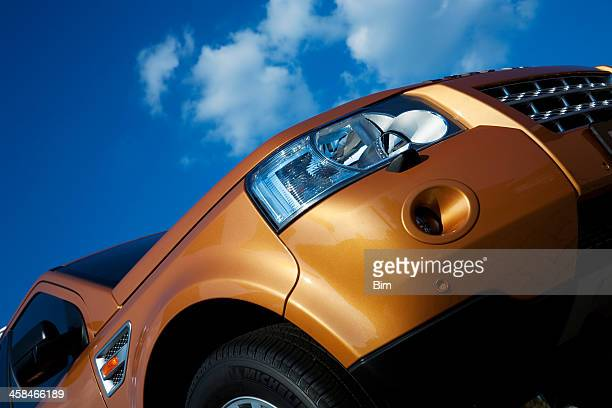 Land Rover SUV Freelander low angle view