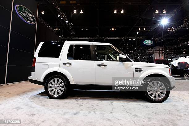 Land Rover LR4 at the 105th Annual Chicago Auto Show at McCormick Place in Chicago Illinois on FEBRUARY 08 2012