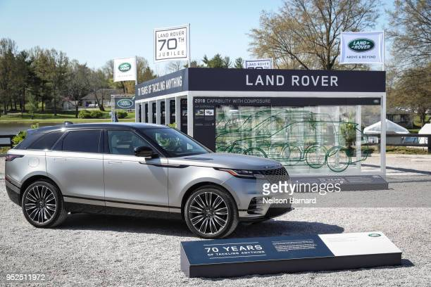 Land Rover North America celebrates 70 Years of Land Rover at the Land Rover Kentucky Three Day Event at the Kentucky Horse Park on April 28 2018 in...