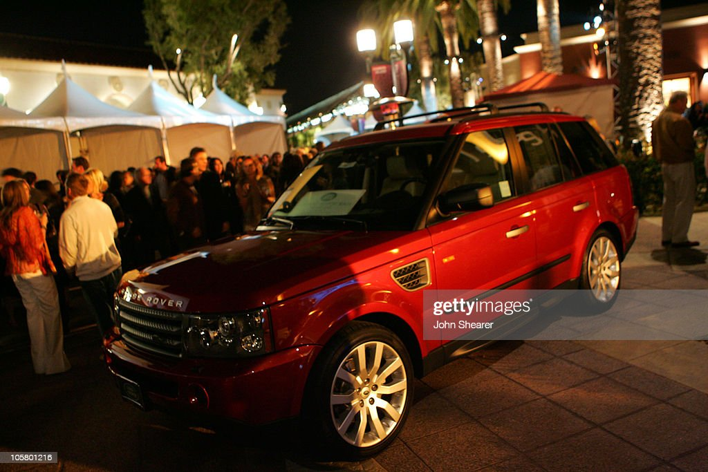 Land Rover Range Rover during 2006 Newport Beach Film