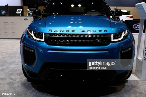 Land Rover Range Rover Evoque is on display at the 110th Annual Chicago Auto Show at McCormick Place in Chicago Illinois on February 8 2018