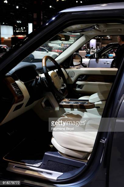 Land Rover Range Rover is on display at the 110th Annual Chicago Auto Show at McCormick Place in Chicago Illinois on February 8 2018