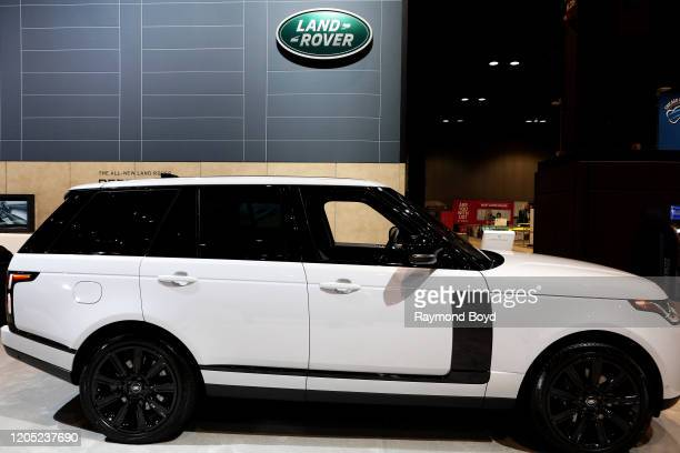 "Land Rover Range Rover is on display at the 112th Annual Chicago Auto Show at McCormick Place in Chicago, Illinois on February 6, 2020. ""n"