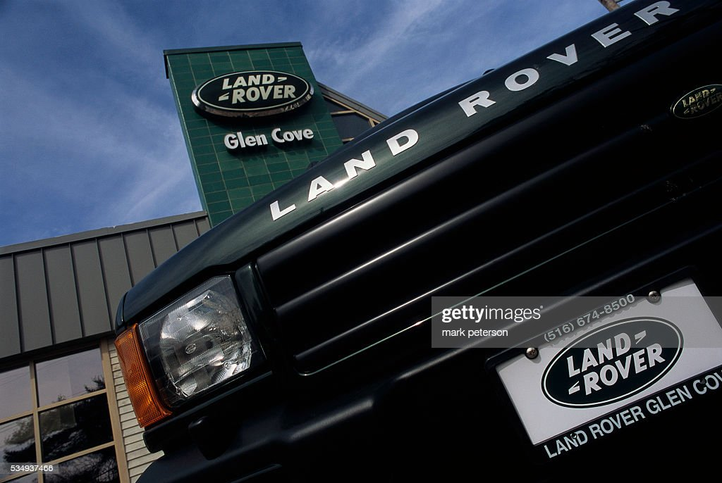 Land Rover Glen Cove >> A Land Rover Sport Utility Vehicle Sits Outside The Glen