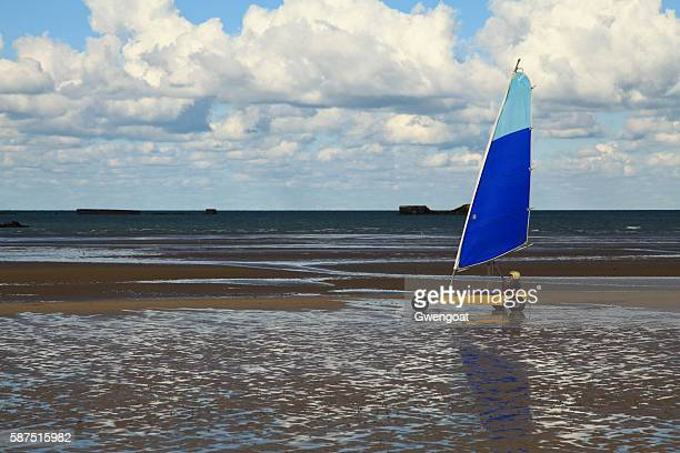 Land sailing on Gold Beach
