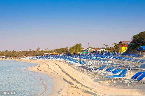 landa beach cyprus - republic of cyprus stock pictures, royalty-free photos & images