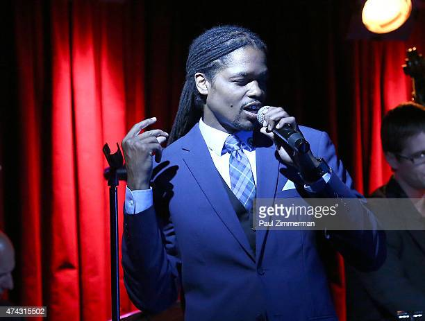 Landau Eugene Murphy Jr performs at BB King Blues Club Grill on May 21 2015 in New York City