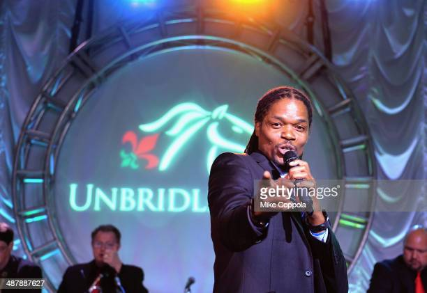 Landau Eugene Murphy Jr performs at the 2014 Unbridled Eve Derby Gala during the 140th Kentucky Derby at Galt House Hotel Suites on May 2 2014 in...