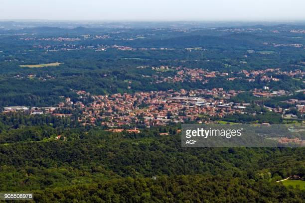 Landcape from Sacro Monte In Varese Lombardy Italy