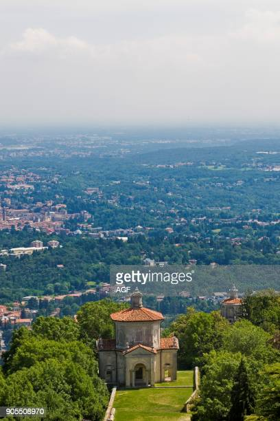 Landcape Sacro Monte In Varese Lombardy Italy