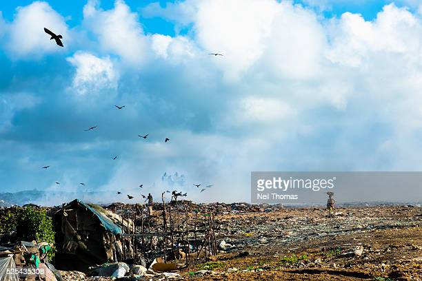 A landfill in the hills above Mombasa Kenya The average incidence of poverty in the Coast Province of Kenya was at 62% in 2006 with pockets around...