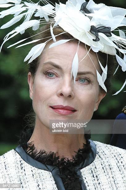 Landgrebe Gudrun Schauspielerin D bei Dreharbeiten zu 'Eine Prinzessin zum Verlieben'