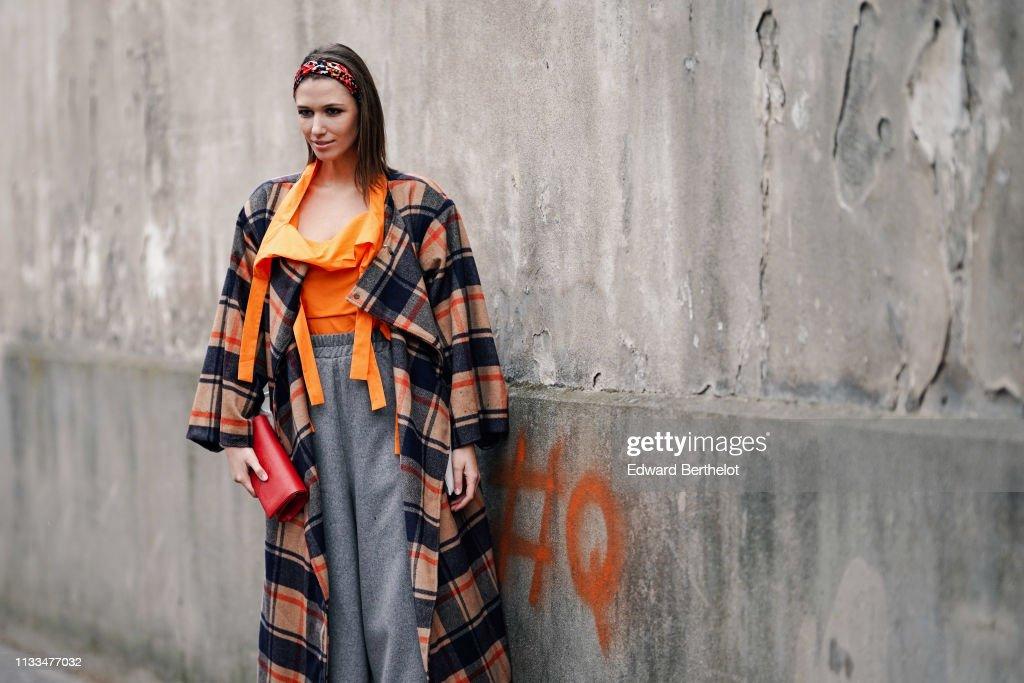 b2f4209c3e Street Style - Paris Fashion Week Womenswear Fall/Winter 2019/2020 : Day  Seven