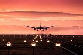 Landung Flugzeug