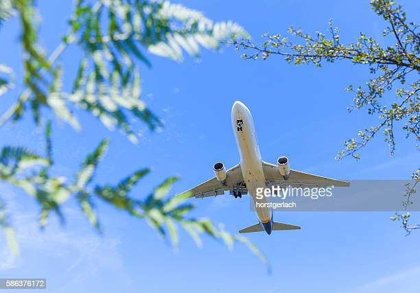 Landing at Cologne International Airport CGN
