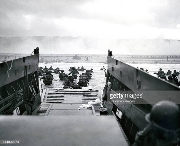 Landing Barge DDay Invasion Of France World War Ii
