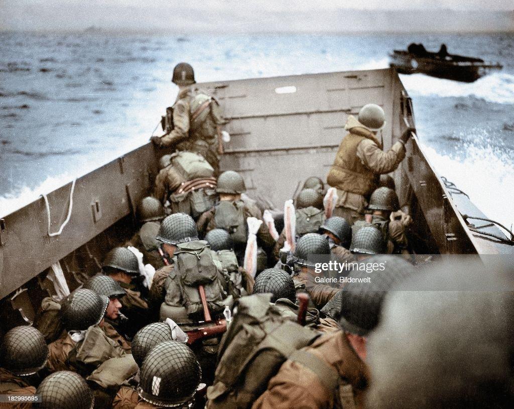 Omaha Beach : News Photo