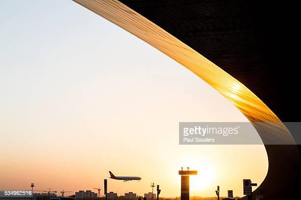 Landing Jet, Beijing, China